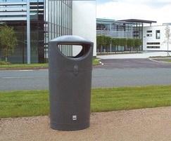 Pewsham Moulded Plastic  Litter Bin - PLC400