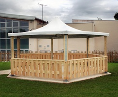 Sheldon Hexagonal Timber Shelter - SPG311