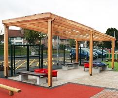 Sheldon Outdoor Teaching Canopy - SPG320