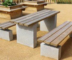 Sheldon Picnic Benches - SPT311-1800