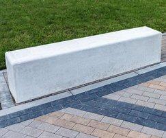 Pewsham concrete bench - PBN408