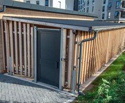 Bespoke Sheldon cycle shelter - SCS301
