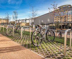 Malford stainless steel cycle racks - MCR200