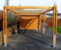 Sheldon Solar Shading Shelter - SPG318
