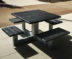 Sheldon Recycled Plastic Picnic Table - SPT302