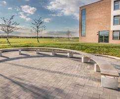 Sheldon circular benching - SBN307