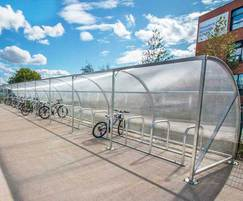 Malford Cycle Shelter - MCS206