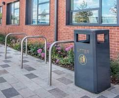 Cycle Racks & Litter Container - MCR200 & MLC209