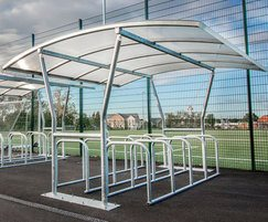 Malford cycle shelter - MCS200