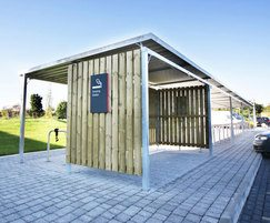 Malford cycle shelter - MCS210