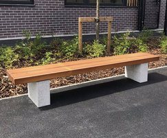 Langley Timber Bench - LBN114
