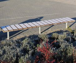 Sheldon Straight Timber Bench - SBN307