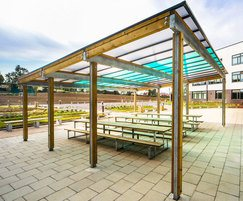 Sheldon bespoke timber canopy - SPG326