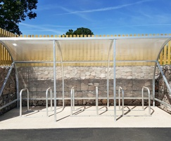 Malford Steel Cycle Shelter - MCS206