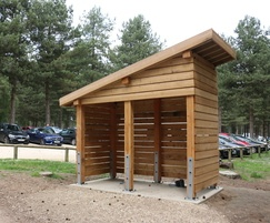 Before: Bespoke Timber Pay Shelter