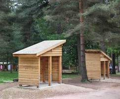 Before: Bespoke Timber Pay Shelters