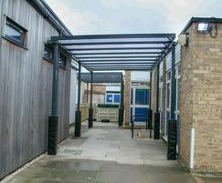 Malford steel external canopy - MCP208