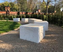 Pewsham Concrete Benches - PBN407 & PBN411
