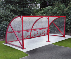 Malford Steel Cycle Shelter - MCS207