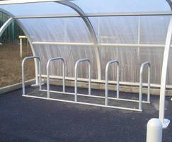 Malford Galvanised Steel Cycle Racks - MCR201