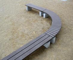 Sheldon Curved Bench - SBN307