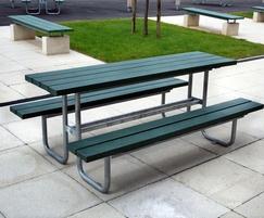 Sheldon Recycled Plastic Picnic Table - SPT310