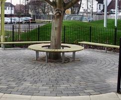 Sheldon Circular Tree Bench - SBN326