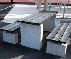 Sheldon Recycled Plastic Table - SPT312
