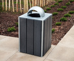 Sheldon Steel Frame Litter Bin - SLC302