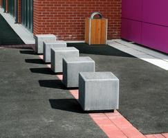 Pewsham Solid Pre-Cast Concrete Cube - PBN406