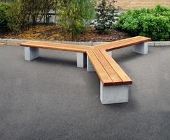 Langley Tri Style Bench - LBN116
