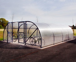 Malford Enclosed Steel Cycle Shelter - MCS206