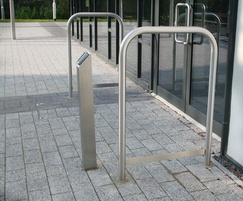 Malford Steel Door Barrier with Tapping Rail - MDB203