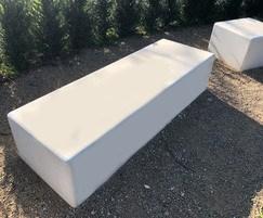 Pewsham Concrete Bench - PBN411