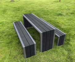 Langley Steel Framed Picnic Table - LPT106