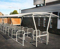 Malford Double Sided Steel Frame Cycle Shelter - MCS204