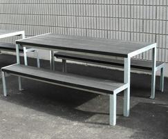 Sheldon Recycled Plastic Picnic Table - SPT317