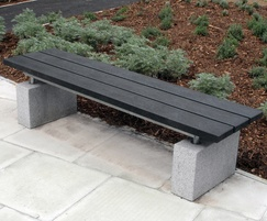 Sheldon Recycled Plastic Bench - SBN310