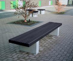 Langley Timber Bench - LBN113