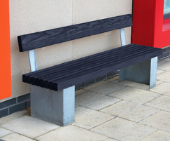 Langley Timber Slatted Seat - LST101