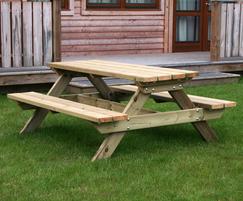Sheldon Timber Picnic Table - SPT315