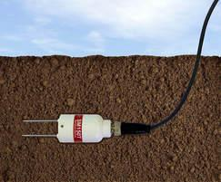Ideal for long-term burial - attached to a data logger