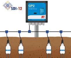WET150 Sensor - typical SDI-12 cabling configuration