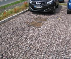 GF 40 - car park - low-density polyethylene
