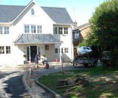 GF30 reinforcement tiles, domestic driveway, Tring