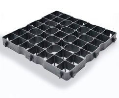 GF40 pavers are supplied as 4 x 500mm grids