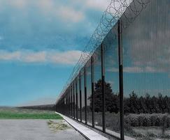 Cordguard 358 prison mesh panels