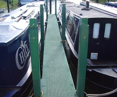 Inland Waterways Marina Decking
