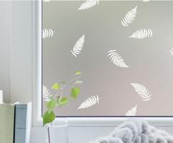 Fern pattern window film