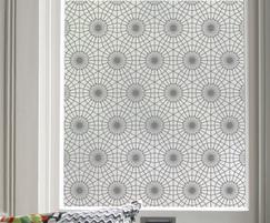 Moor Arabic patterned window film